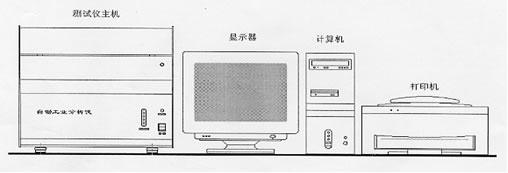 工业分析仪器结构图