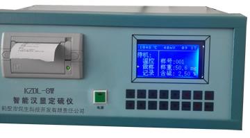 微机测硫仪自动升温