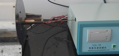 微机测硫仪样品出来