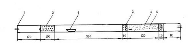 二节炉燃烧管填充示意图