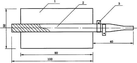 测氢仪电解池示意图