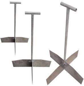 不锈钢十字分样板